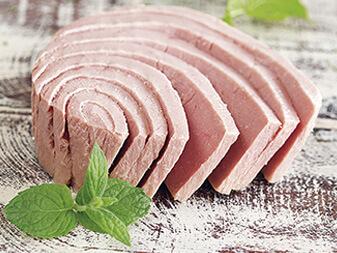 Filetti di tonno con peperoncino